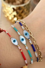Kindred Row Evil Eye Cord Bracelet - Product Mini Image