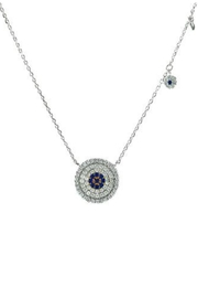 Embellish Evil Eye Necklace - Front cropped