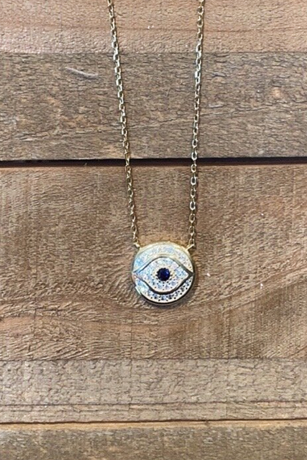Allie & Chica Evil Eye Necklace - Main Image