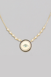 R+D  Evil Eye Necklace - Product Mini Image
