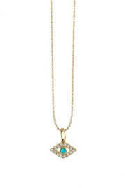 Sydney Evan Evil Eye Necklace - Product Mini Image