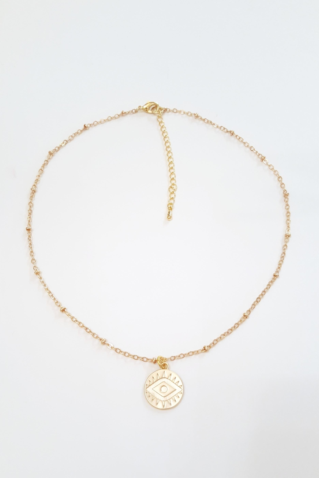 Simply Chic Evil Eye Necklace - Main Image