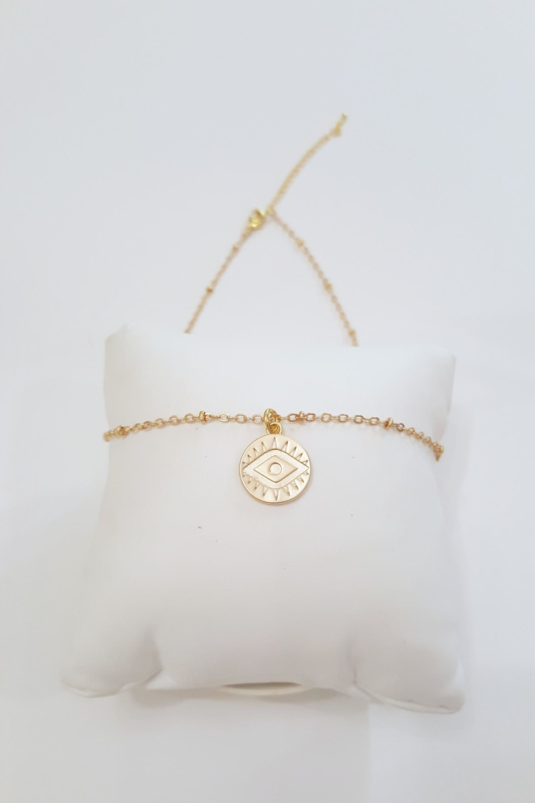 Simply Chic Evil Eye Necklace - Side Cropped Image