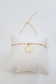 Simply Chic Evil Eye Necklace - Side cropped