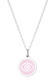 Auburn Jewelry Evil Eye Silver Pendant - Mini - Product Mini Image