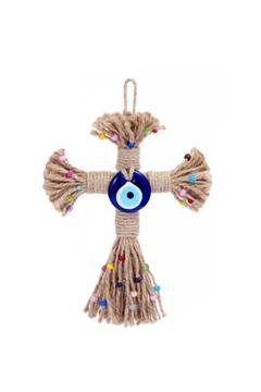 Evil Eye Store Cross Wall Hanging - Product List Image