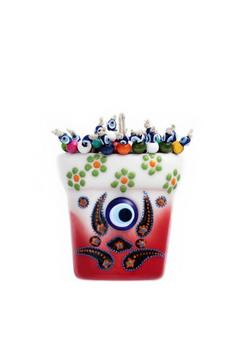 Evil Eye Store Flower Pot Wall Hanging - Alternate List Image