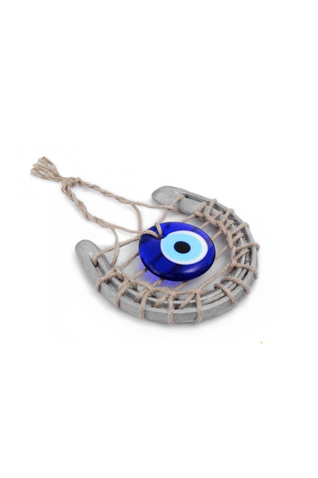 Evil Eye Store Horseshoe Wall Hanging Art - Front Cropped Image