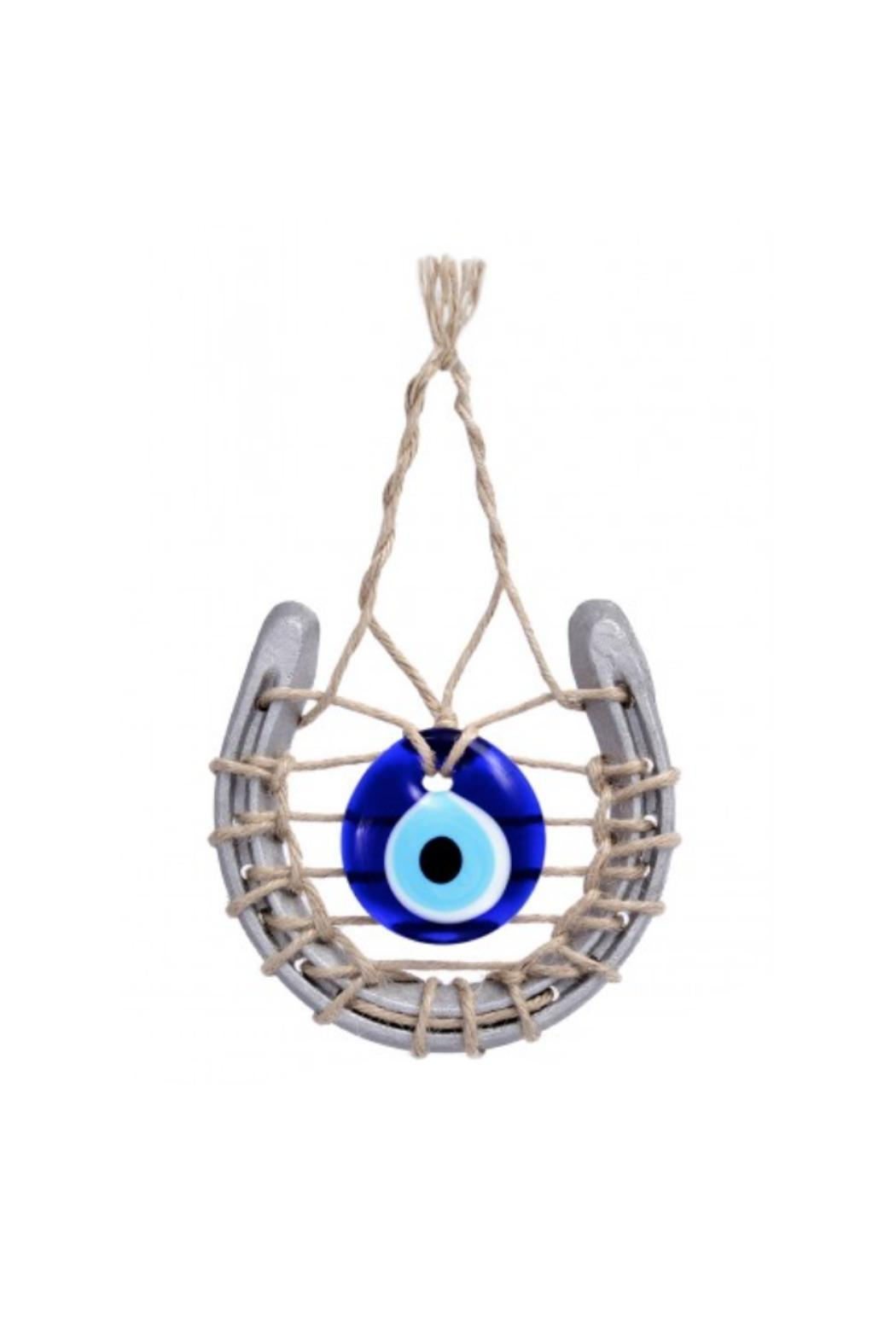 Evil Eye Store Horseshoe Wall Hanging Art - Main Image