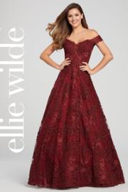 Ellie Wilde ew119009 - Off The Shoulder Prom Dress - Product Mini Image