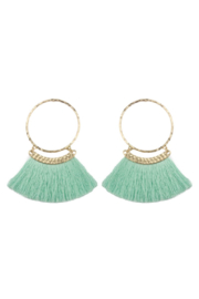 The Birds Nest EXAGGERATED TASSEL EARRINGS - Product Mini Image