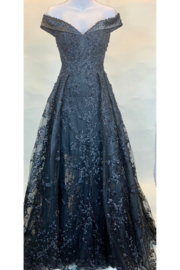 CREATIVE IMPORTS/ MAC DUGGAL EXCLUSIVE OFF THE SHOULDER LIKE A PRINCESS GOWN - Product Mini Image