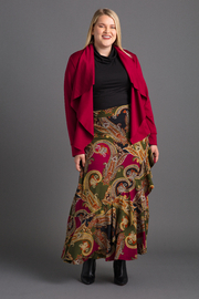 VKY & CO Exclusive Draped Open-Front Jacket - Product Mini Image