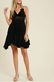 Wishlist EXCLUSIVE SCALLOPED LACE BRALETTE DRESS - Product Mini Image