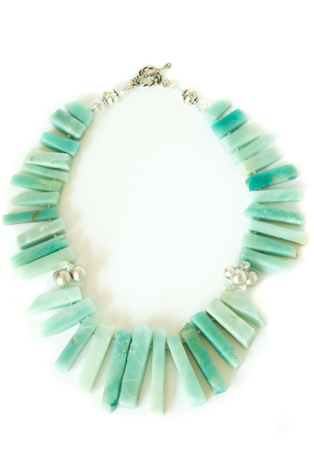 Exclusively Leslie Amazonite Necklace - Main Image