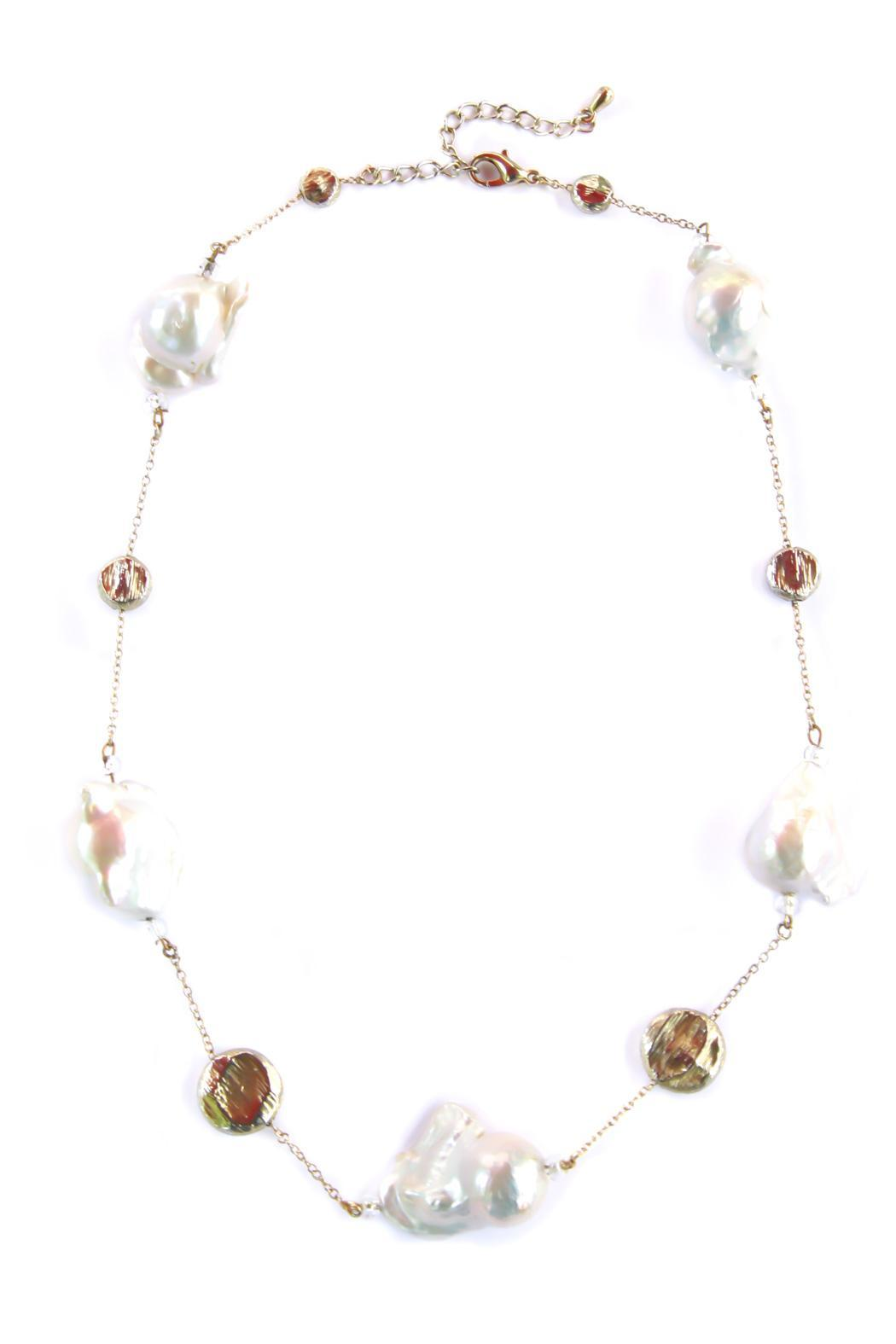 Exclusively Leslie Baroque Pearl Necklace - Main Image