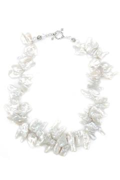 Exclusively Leslie White-Keshi Pearl Necklace - Product List Image