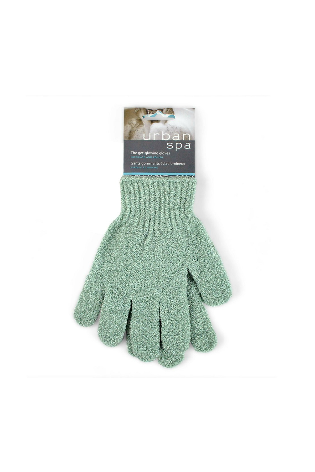 Pre de Provence EXFOLIATING GLOVES - Front Cropped Image