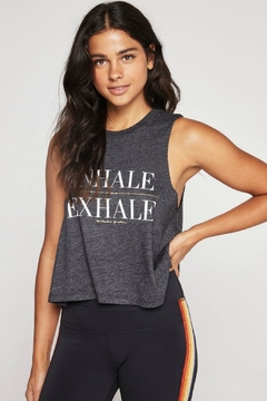 SPIRITUAL GANGSTER Exhale Crop Tank - Product List Image