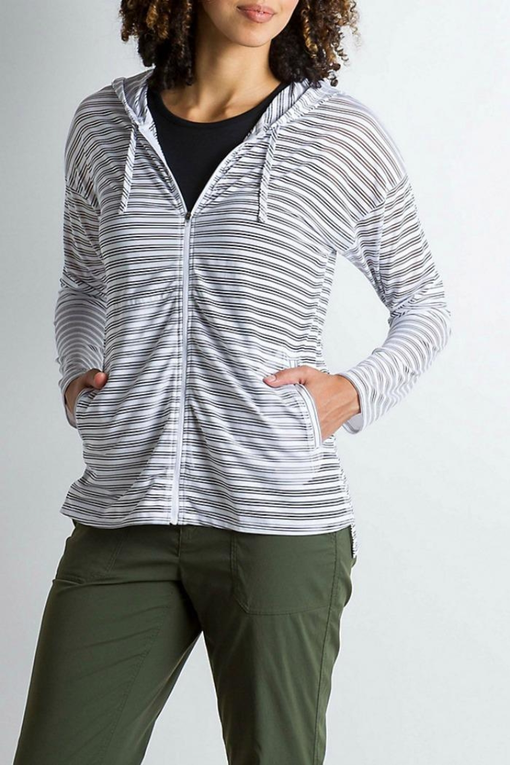 Exofficio Bugsaway Modena Hoodie - Front Cropped Image
