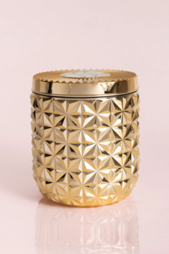 Shoptiques Product: Exotic Blossom & Basil Jumbo Gilded Faceted Jar, 30 oz