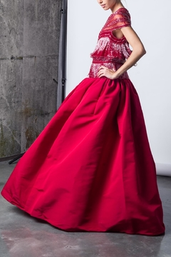 Shoptiques Product: Exotic Red Gown