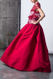 Naeem Khan Exotic Red Gown - Product Mini Image