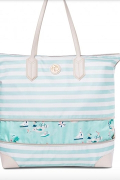 Shoptiques Product: Expandable Tote Stripe