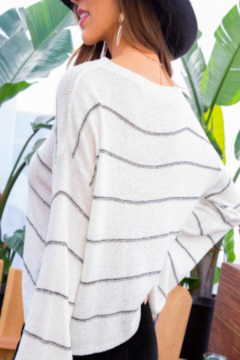 Main Strip Explorer Striped Sweater - Alternate List Image