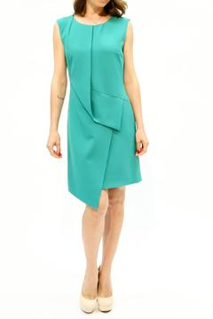 Shoptiques Product: Green Fitted Dress