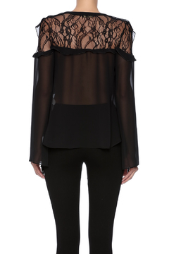 Explosion Lace Insert Top - Alternate List Image