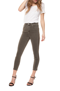 Shoptiques Product: Exposed Side Zip Super Skinny Jean
