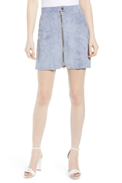 Bishop + Young Exposed Zip Mini Skirt - Product List Image