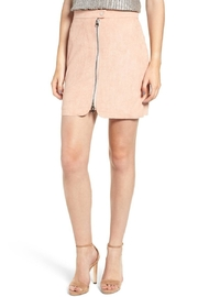 Bishop + Young Exposed Zip Miniskirt - Product Mini Image