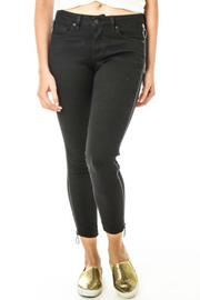 Funky Soul Exposed Zipper Jean - Front cropped