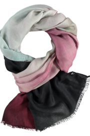V Fraas Expressionism Scarf - Front full body