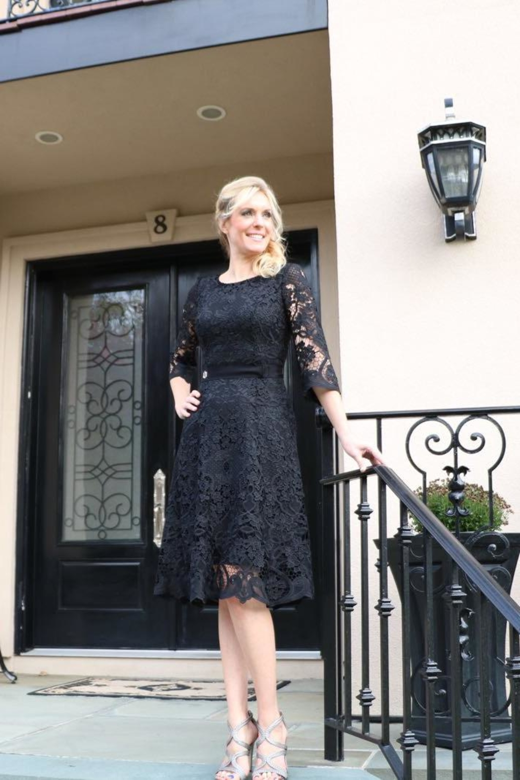 lasagrada Exquisite Lace  Dress - Front Full Image