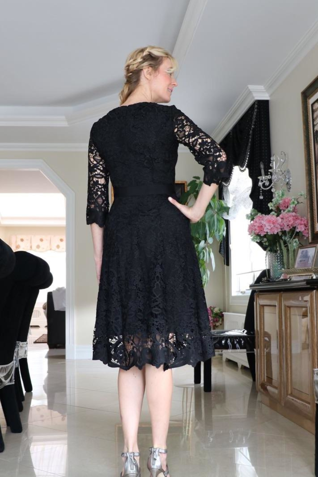 lasagrada Exquisite Lace  Dress - Main Image