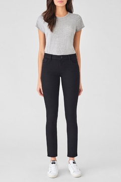 DL1961 Extra-Long Black Skinny - Product List Image