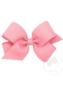 Shoptiques Product: Extra Small Organza Overlay Bow