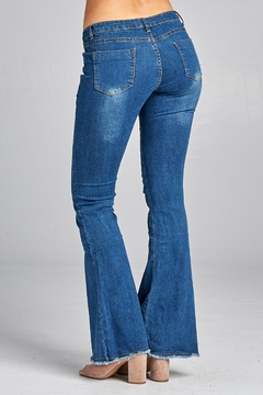 Racine Extreme-Flare Faded Jeans - Alternate List Image