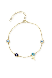 Earthy Chic Eye Charm Bracelet - Product Mini Image