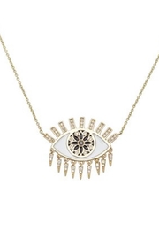 Sydney Evan Eye Fringe Necklace - Product Mini Image