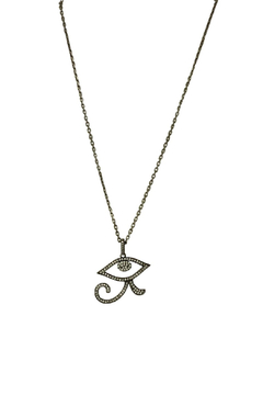 Fabulina Designs Eye of Horus Necklace - Product List Image