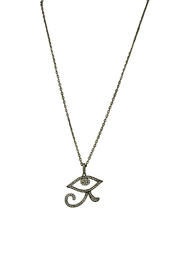 Fabulina Designs Eye of Horus Necklace - Front cropped
