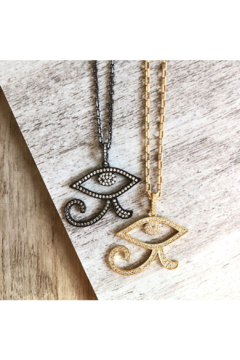 Fabulina Designs Eye of Horus Necklace - Alternate List Image