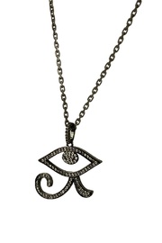 Fabulina Designs Eye of Horus Necklace - Front full body