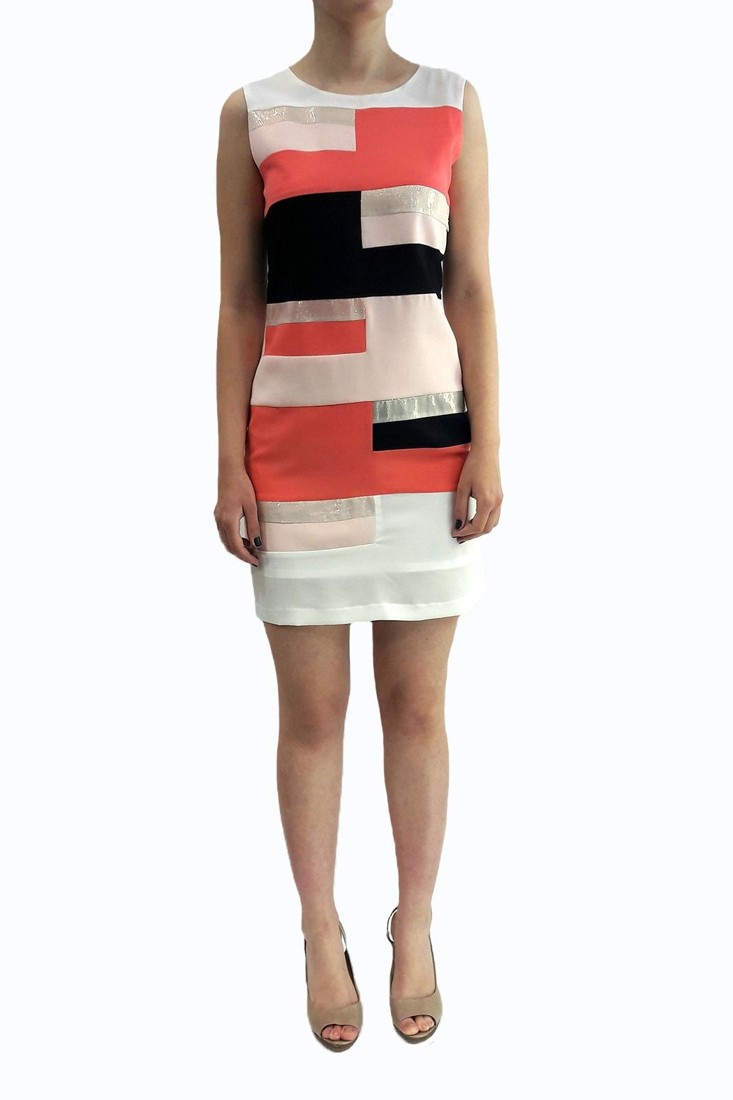 Eyedoll Colorblock Dress - Front Cropped Image