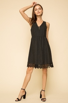 Hem & Thread Eyelash Hem Dress - Product List Image