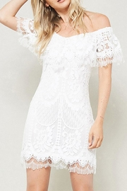 Promesa USA Eyelash Lace Dress - Product Mini Image